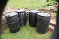Plastic Composting Barrels 07 July 2014