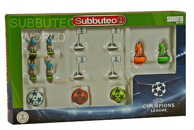 NEW CHAMPIONS LEAGUE SUBBUTEO ACCESSORY SET. PAUL LAMOND TABLE SOCCER. FOOTBALL
