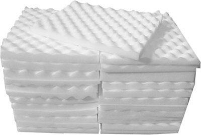 Egg Box Foam Profiled Sheets approx 28cm x 36cm BRAND NEW  30 Sheets   BULK PACK