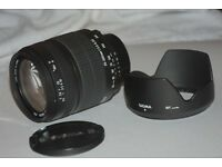 SIGMA AF-MF ZOOM LENSE 28-300mm F3.5-6.3 MACRO FOR NIKON