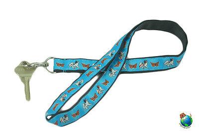 Papillon Lanyard Key Holder Badge Holder
