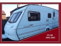 Swift Ace Jubilee 4 Berth Luxury Caravan Abbey Sterling Group BARGAIN.