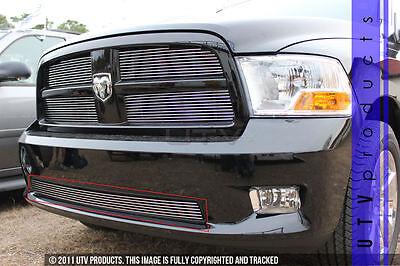 GTG 2009 - 2012 Dodge Ram Sport 1500 1PC Overlay Bumper Billet Grille Grill