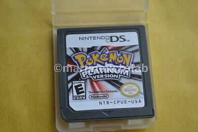 POKEMON PLATINUM NINTENDO DS/DSI/2DS/3DS GAME GO **CARTRIDGE ONLY**