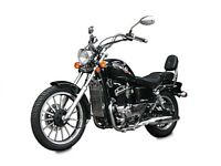 NEW AJS REGAL RAPTOR 125cc, OWN THIS £11.61 PER WEEK