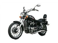 NEW AJS REGAL RAPTOR 125cc TWIN CYL. £11.61 PER WEEK