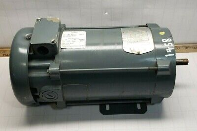 Emerson 1 Hp Dc Electric Motor 180 Vdc 56c Frame 1750 Rpm 58 Dia Shaft 611925