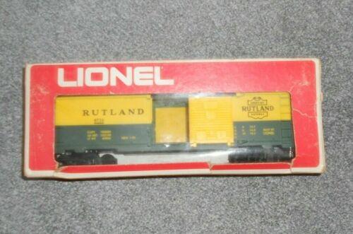 LIONEL BOXCAR O GAUGE RUTLAND RAILROAD NIB