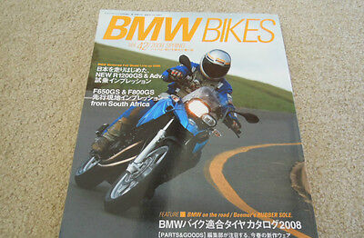 BMW Bikes Motorcycle Magazine / Book 2008 Spring Thick & Glossy Ships from USA