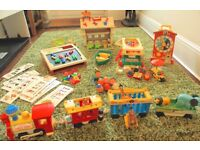 Classic, vintage Fisher Price Toys - bundle or separate sets