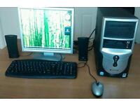 E- system desktop computer