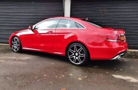 2014 MERCEDES E220 CDI AMG SPORT COUPE NOT E250 E350 C220 C250 C350 BMW 320D 330D M SPORT A4 A5 A6