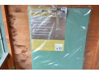 5 sheets green underlay (Laminate)