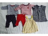 Bundle of girls clothes 0-3mths