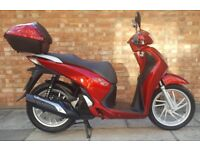 Honda SH 125 In excellent condition, Only 1444 miles!