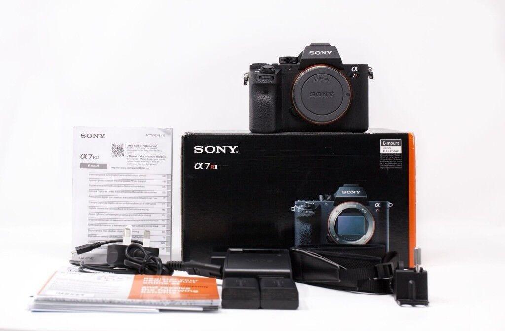 3k Shutter** Sony A7r II (Mark II) Mirrorless Full Frame Camera 42MP ...