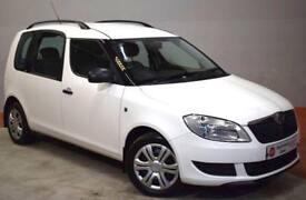 SKODA ROOMSTER 1.2 S TSI 5d 84 BHP (white) 2010