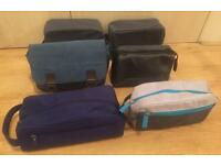 6 new men's washbags / toiletries bags. Ralph Lauren, Fat Face, Issey Miyake, Bottega Venetta