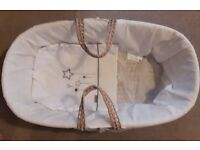 Moses Basket -Very Clean & Rarely used - £10
