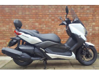 Yamaha XMAX 400cc in white, Excellent condition with low miles