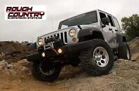 Suspension 4'' Rough Country Jeep Wrangler 2007-14