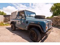 Very reliable old Landy truck cab with many new parts - see below for details.