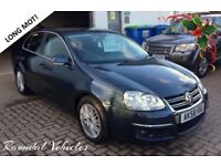 2008 VOLKSWAGEN JETTA 2.0 Tdi Sport saloon 88k, fsh, Long mot Aug 2018 met grey, grey int CLEAN CAR