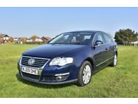 VW Passat SEL TDi 170, 6 spd. manual saloon with *tow bar* - Top of the range model when new.