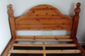 Pine Bed Base
