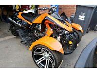 250cc Trike quad motorbike tricycle road legal motorcycle 3 wheel