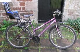 Women's 'Integra' Mountain Bike with Child Seat