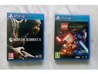 LEGO Star Wars The Force Awakens Mortal Kombat X Playstation 4 PS4 Games Cheap
