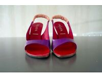 Prada purple sling-back heels – UK size 6 (European size 39)