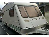 Caravan Fleetwood crystal 5 berth 165_5 with new awning