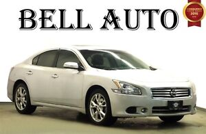 2012 Nissan Maxima S LEATHER INTERIOR- SUNROOF - ALLOY WHEELS -