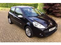 2010 Renault Clio 1.2 16v I-Music. Immaculate Condition. Full Service History.