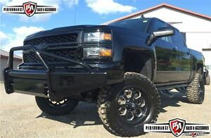 2015 Chevrolet Silverado 1500 LT PERFORMANCE PACKAGE (LIFT, WHEE
