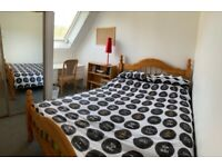 STUDENT DOUBLE ROOM central Edinburgh from 1st Jan. All bills, Stunning views. Non-smoking.