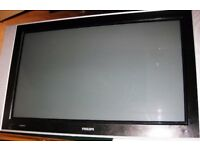 Plasma TV Philips 42 inch needs attention. For spare or repair