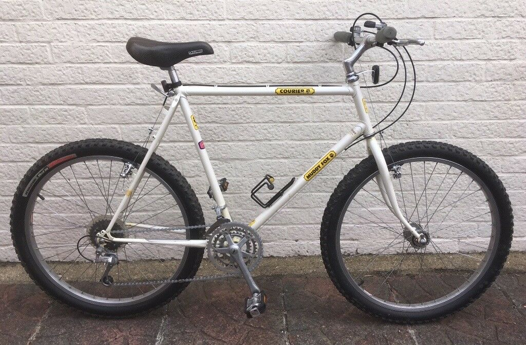 Vintage 1980s Muddy Fox Courier - Early Steel Lugged Mountain Bike ...