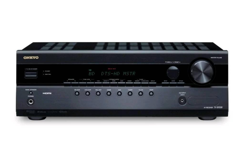 Onkyo TX-SR308 5.1 AV HDMI Receiver