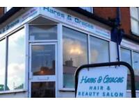 Beauty therapist required,Hares and Graces Ipswich