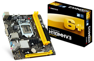 PLACA BASE BIOSTAR H110MHV3 SOCKET 1151 CHIPSET INTEL H110 VER: 7.2