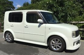 NISSAN CUBE RIDER 2004 66'000 MILES NEW TYRES BRAKES PADS SERVICED BLUETOOTH