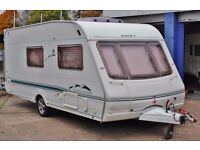 2004 SWIFT CHALLENGER 530, 4 BERTH, BATHROOM, AWNING & MOTOR MOVER, ALKO STABILIZER, EXTRAS!