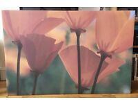 IKEA Large Floral Print - 120x80cm