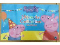 Peppa Pig 20 DVD boxset brand new