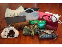 Bundle / Collection of Clutch Bags & Shoulder Bags (Karen Millen, Coast +)
