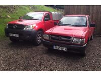 TOYOTA HILUX PICKUPS WANTED ANY AGE & CONDITION DIESEL
