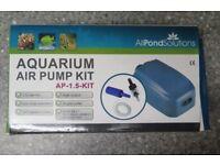 Aquarium Fish Tank Air Pump Kit by AllPondSolutions AP-1.5 KIT